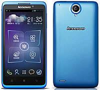 "Смартфон Lenovo S890 Blue 2sim, 3G, экран 5"" IPS, 1/4Гб, 8Мп, 2 ядра 1.2 ГГц, GPS, Android 4.2"