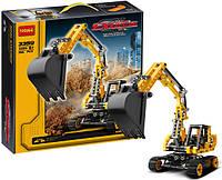 """Конструктор Decool 3359 """"Эксковатор"""" 286 деталей аналог Лего Техник (LEGO Technic)"""