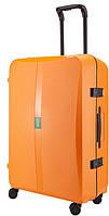 Оригинальный большой пластиковый чемодан, 4-колесный 100 л. OCTA 2/Orange Lojel Lj-PP9-1L_OR, оранжевый