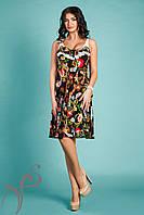 Модное летнее платье Миндаль