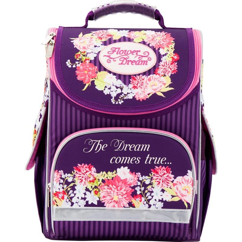 173a82630d09 Рюкзак школьный каркасный Flower dream KITE K17-501S-1 - Mega Toys Ukraine  Интернет