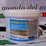 Клей для паркета полеуретановый двухкомпонентный ADESIVER 327 PU, 10+1 кг