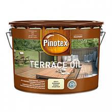 Pinotex terrace oil 10л - деревозащитное террасное масло