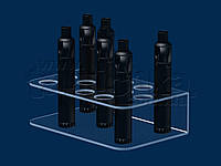 Подставка под электронные сигареты 185х55 мм, акрил 1,8 мм, фото 1