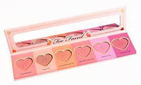 Палетка румян Too faced love flush blush wardrobe long-lasting 16-Hour Blush Wardrobe