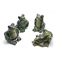 Лягушка керамическая 4 шт.в уп. 10х8,5х5,5 см