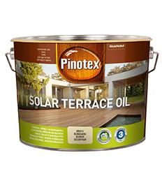 Pinotex Solar terrace oil 10л- деревозащитное террасное масло