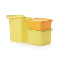 "Набор контейнеров ""Кубикс"" (650 мл, 1 л, 1,8 л), Tupperware"