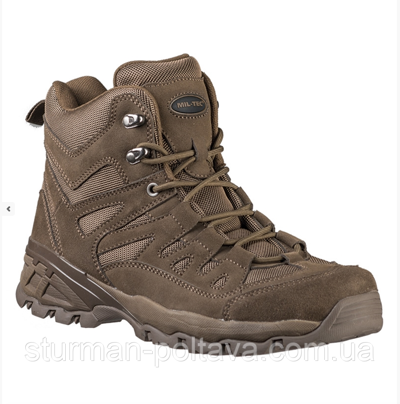 Ботинки  армейские   демисезонные  тактические  TROOPER' 5 INCH  цвет  коричневый  Mil-Tec   Германия