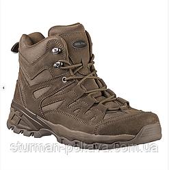 Армійські черевики демісезонні тактичні TROOPER' 5 INCH колір коричневий Mil-Tec Німеччина