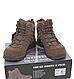 Ботинки  армейские   демисезонные  тактические  TROOPER' 5 INCH  цвет  коричневый  Mil-Tec   Германия, фото 4