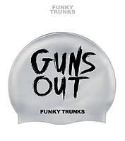 Силиконовая шапочка для плавания Funky Trunks Guns Out