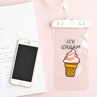Водонепроницаемый чехол для телефона Ice Cream 10.5 х 19.5