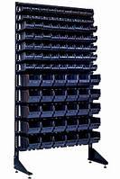 Напольный стеллаж с 93 ящиками для метизов