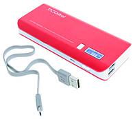PowerBank Proda V6i LCD Power Box 10000mAh красный
