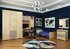 Кровать односпальная с бортиком Астория-2, фото 2