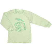 Детская водолазка р. 74 для мальчика ткань ФУТЕР 100% хлопок ТМ Алекс 3693 Зеленый