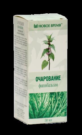 """Фитобальзам """"Очарование"""" Новое время, 50 мл"""