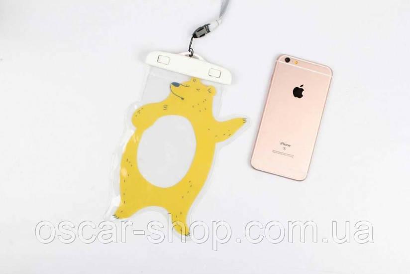 Водонепроницаемый чехол для телефона Proud Bear 10.5 х 19.5