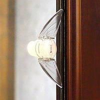 Защита от детей на шкаф - купе. Блокиратор для раздвижных систем. (1 штука)  Оптом