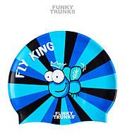 Силиконовая шапочка для плавания Funky Trunks Fly King