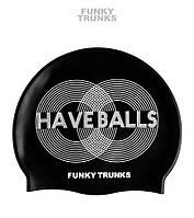 Силиконовая шапочка для плавания Funky Trunks Have Balls