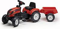Трактор на педалях Falk RANCH 2051A з причепом