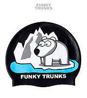 Силиконовая шапочка для плавания Funky Trunks Pizzly