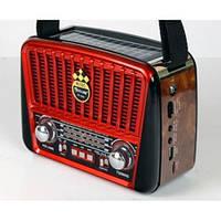 Радиоприёмник с солнечной панелью и отличным приемом FM GOLON RX-455S