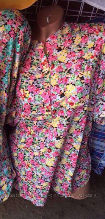 Женская блузка штапель