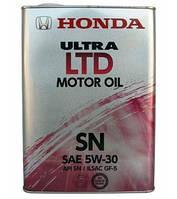 Моторное масло  HONDA Ultra LTD 5W-30 4л