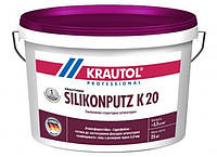 "Krautherm Silikonputz K20 - декоративная силиконовая штукатурка ""барашек"" 2,0 мм (25кг)"
