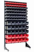 Напольный стеллаж с 93 ящиками для метизов, фото 1
