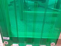 Прозорий шифер Salux 1.8 х 0.9 зелений трапеція, фото 1