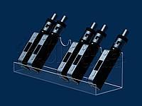Подставка под электронные сигареты 245х75 мм, акрил цветной 3 мм, фото 1