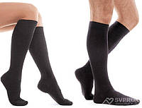 Гольфы Tiana хлопчатобумажные unisex Travel, (профилактичные), закрытый носок, черный, 2, фото 1