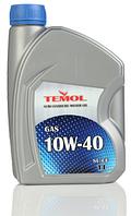 Моторное масло TEMOL Gas 10w40 1/4/5/10/20/205л.