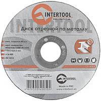 Круг отрезной по металлу INTERTOOL CT-4005, фото 1