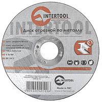 Круг отрезной по металлу INTERTOOL CT-4010, фото 1