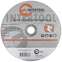 Круг отрезной по металлу INTERTOOL CT-4013, фото 1