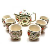 Сервиз керамический Чайник,6 чашек 33х24х10 см