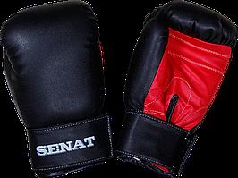 Перчатки боксерские 12 унций, черно-красные, 1512-blk/red