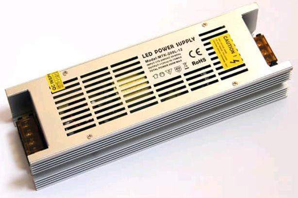 Блок питания 12В; 16,7А; 200 Вт LONG IP20 Код.58932, фото 2