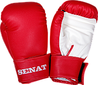 Перчатки боксерские 6 унций, красно-белые, 1543-red/wht