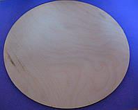 Деревянная Круглая подложка 28 см (1 шт.)
