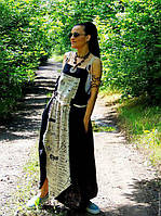 Летний сарафан из натурального льна