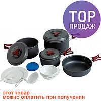 Набор посуды из анодированного алюминия Tramp 026