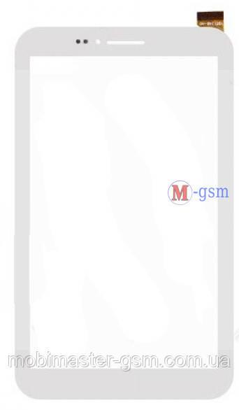 """Тачскрин (сенсорный экран) 7"""" (PN: YDT1248-A0) белый"""