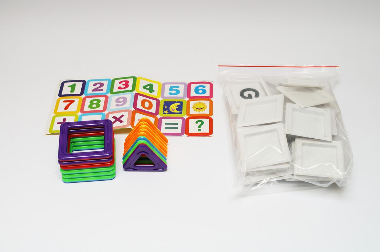 Магнитный конструктор для ребенка магнитные блоки 40 элементов