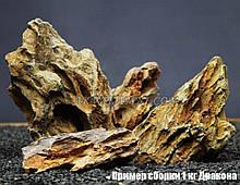 Камінь Дракон 1кг для акваріума (3-12 см)